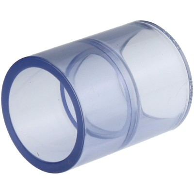 PVC-U Fittings,-Rohr Transparent