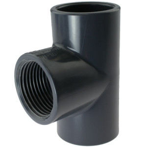 PVC-U T Stück Gewinde
