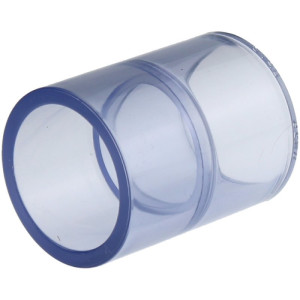 PVC-U Fittings,-Rohr Transparent