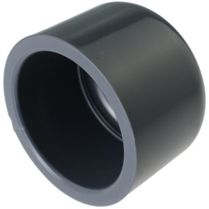 PVC-U Klebekappe 40mm