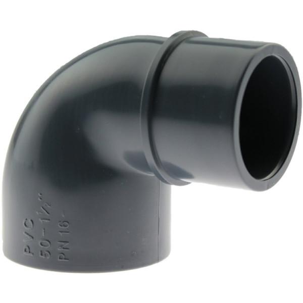 PVC-U Reduzierwinkel 90° 63 x 63/50mm