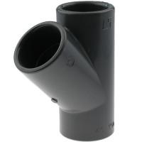 PVC-U T-Stück 45°, 16mm