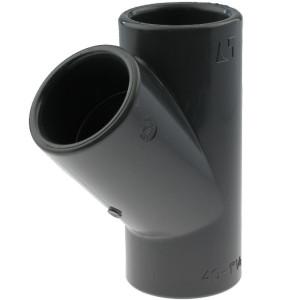 PVC-U T-Stück 45°, 40mm