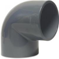 PVC-U Winkel 90° 10mm, Klebemuffe
