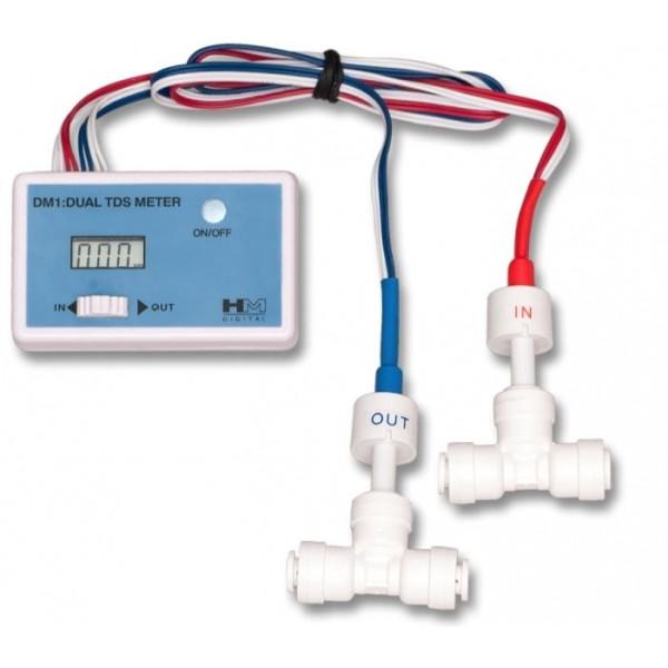 HM DM-1 DM1 DUAL TDS Messgerät (PPM Wert) Osmose Wassertest Testgerät Leitwert