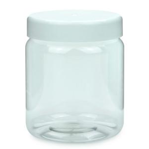 PET Schraubtiegel Cylindrical 500 ml Gewinde 82 RTS mit...
