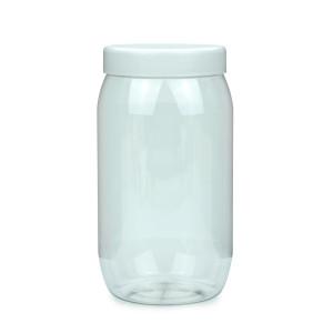 PET Schraubtiegel Cylindrical 1000 ml Gewinde 82 RTS mit...