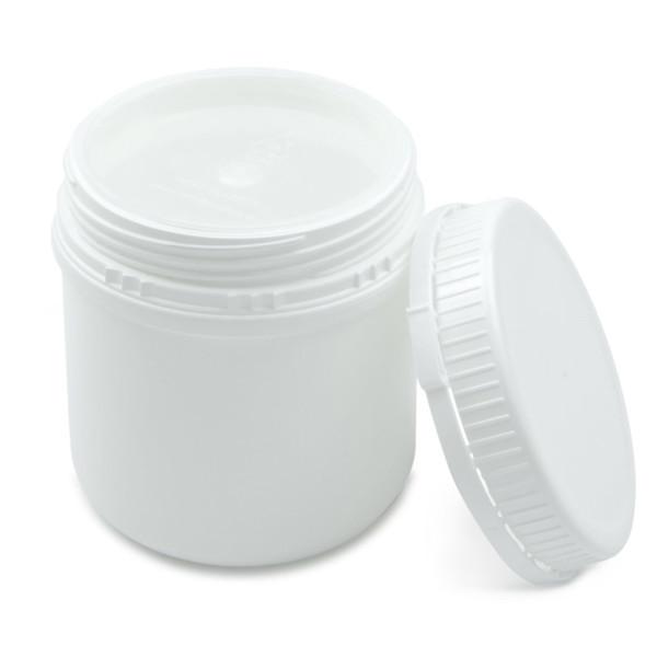 Kunststoff Schraubdose UN 500 ml mit Originalitätsverschluss und Abdichtplombe
