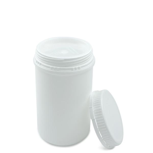Kunststoff Schraubdose UN 1000 ml mit Originalitätsverschluss und Abdichtplombe