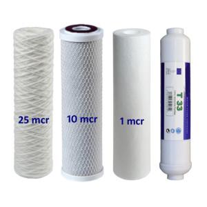 Osmose Filter 4er-Set 25-10-1-T33 für 1. bis 3. und...