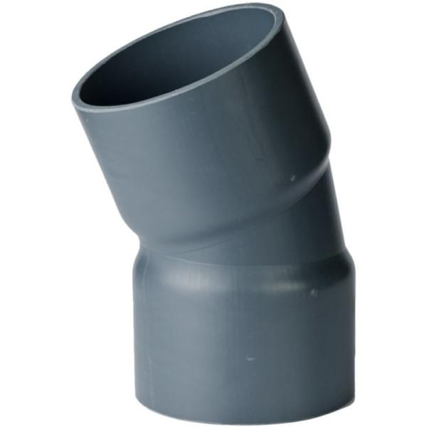 PVC-U Bogen 30°/50mm, Klebemuffe