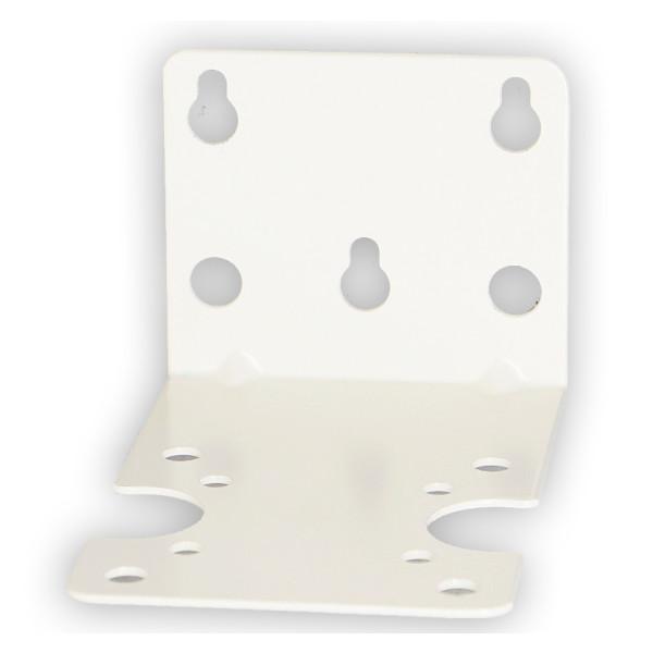 Metall-Wandhalter für Leerfilter 10 u. 20 Zoll weiß