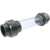 PVC-U-Sichtglas 50mm